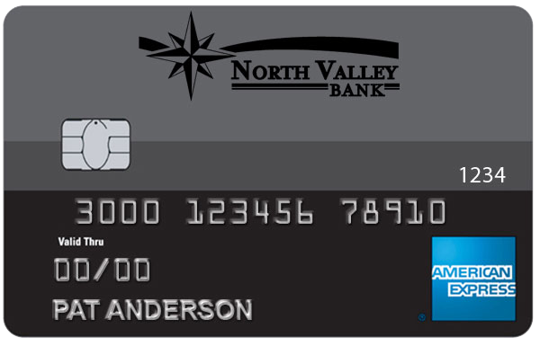 North Valley Bank American Express Card