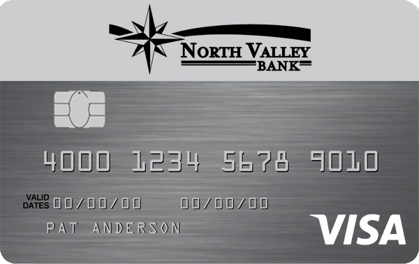 North Valley Bank Platinum Visa Card